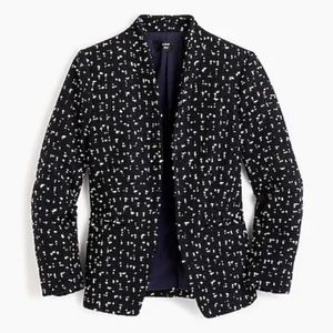 J crew 00 going out of town tweed blazer jacket